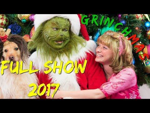 Grinchmas FULL SHOW 2017 Universal Studios Islands of Adventure