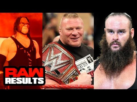BRAUN vs. KANE vs. BROCK at RUMBLE? WWE Raw Review & Results (Going in Raw Pro Wrestling Podcast)