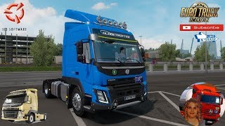 Euro Truck Simulator 2 (1.36)   Volvo FM/FMX fix v1.1 1.36x by Galimin + DLC's & Mods https://forum.scssoft.com/viewtopic.php?f=35&t=278044  Support me please thanks Support me economically at the mail vanelli.isabella@gmail.com  Roadhunter Trailers Heavy