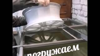 диск R 16 opel astra - аквакапли на белой базе