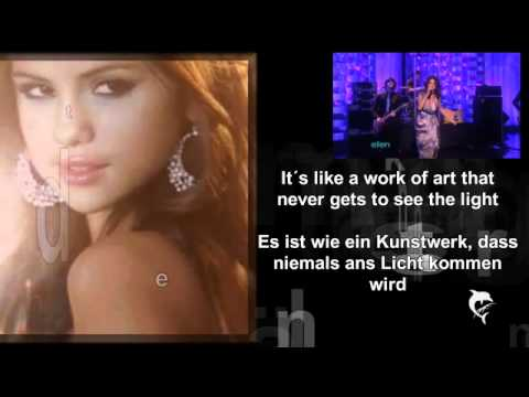 Selena Gomez-Who says (Lyrics+deutsche Übersetzung+Live)