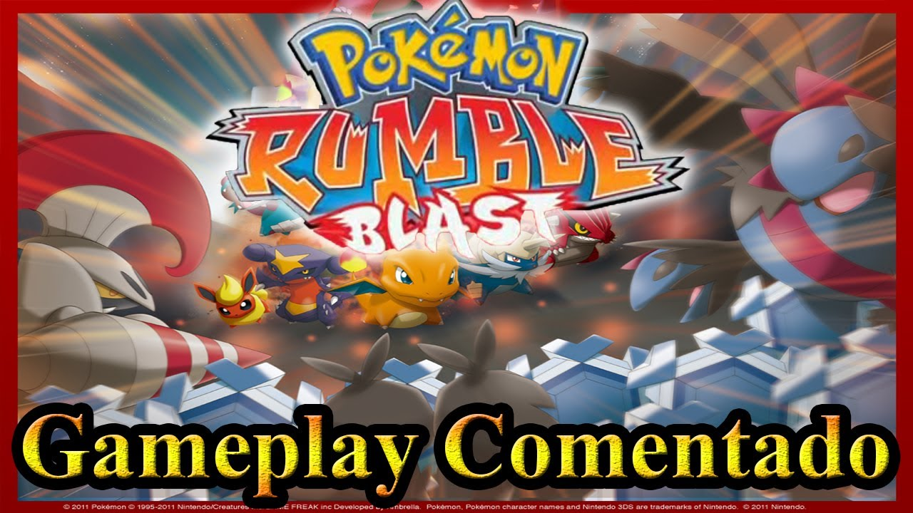 Download 3DS CIAs Pokemon Rumble Blast