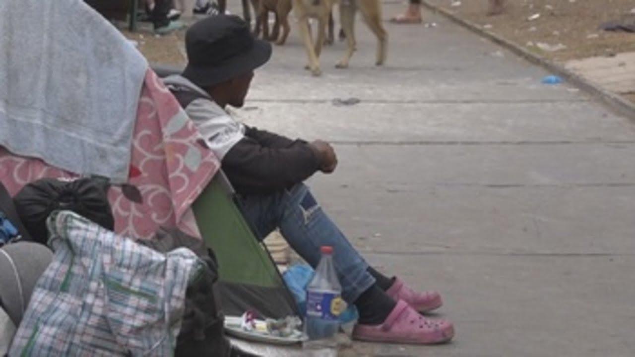Download Cientos de personas varadas en la frontera agravan la crisis migratoria en Chile