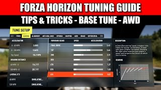 Forza Horizon 2 Tuning Tutorial - Tips and Tricks EP2