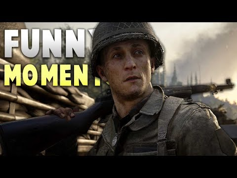 AWFUL PUNS - Call Of Duty WW2 Funny Moments