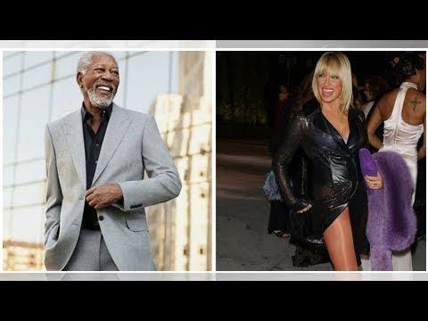 Threes Company actor Suzanne Somers defends Morgan Freeman, calling him just a big flirt