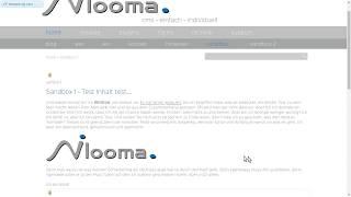 ©nilooma - HowTo 2 - Inhalte bearbeiten: Bilder einfügen