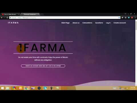 1Farma Bitcoin Mining Site Free Hash Power Bonus On Registration No Investment