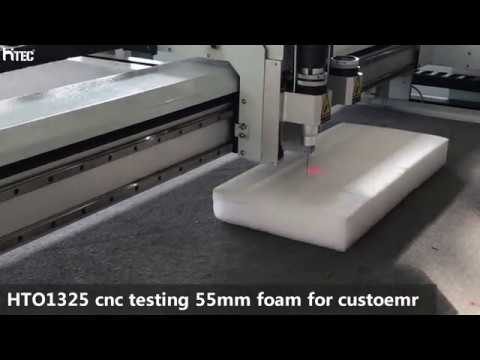 Cnc Oscillating knife cutter for paper leather foam