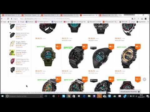 d0385d00976 Compras e Dicas do AliExpress  As 5 lojas top de relógios do AliExpress