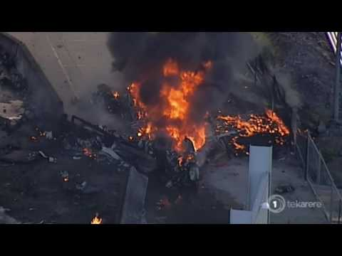 Five confirmed dead in Melbourne plane crash