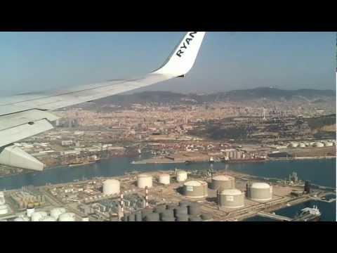 Lądowanie w Barcelonie - El-Prat