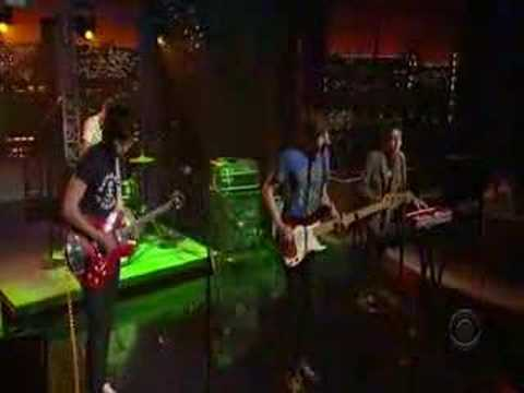 Tokyo Police Club - Nature Of The Experiment Live(letterman)