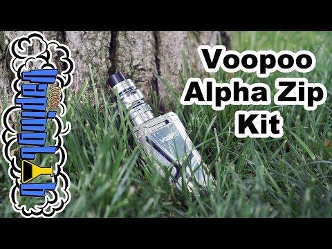 Voopoo Alpha Zip Kit. Еще один прямоугольный параллелепипед