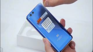 xiaomi mi 6 blue edition unboxing
