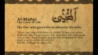 Names of Allah - Al Muhyi