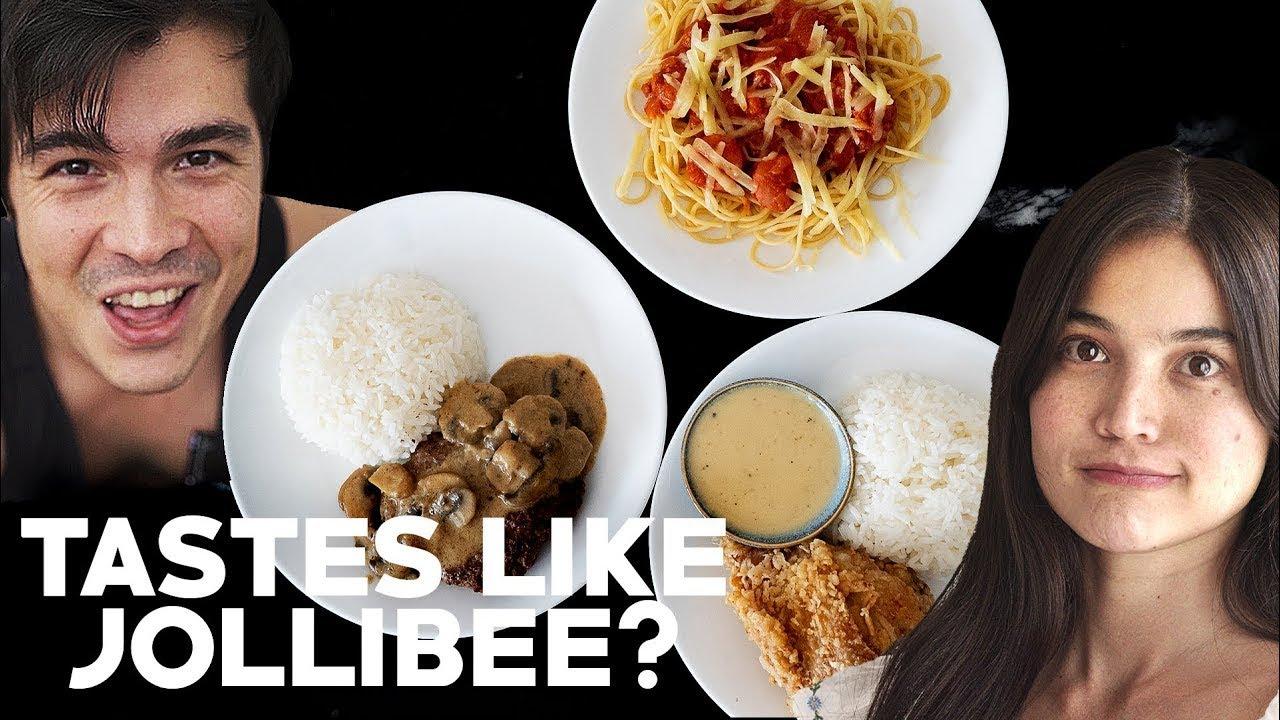 How To Recreate Jollibee At Home Chicken Joy Spaghetti Burger Steak The Fat Kid Inside