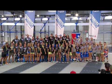 The CrossFit Games - Masters 35-49 Diane & Final Couplet