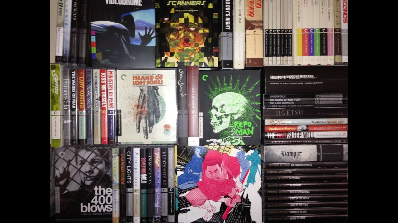 My ENTIRE Criterion Collection - YouTube