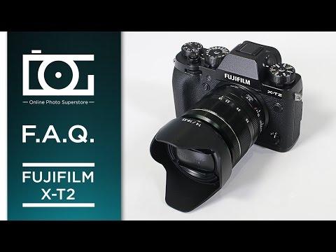 Fujifilm X-T2 Mirrorless Digital Camera | FAQ Video