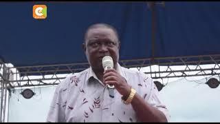Raila thanks uhuru for Nyanza tour