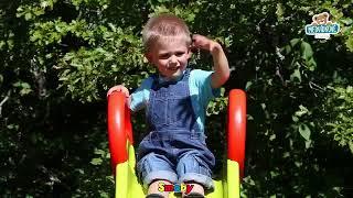 Skluzavka pro děti Toboggan Funny Smoby vlnitá dél