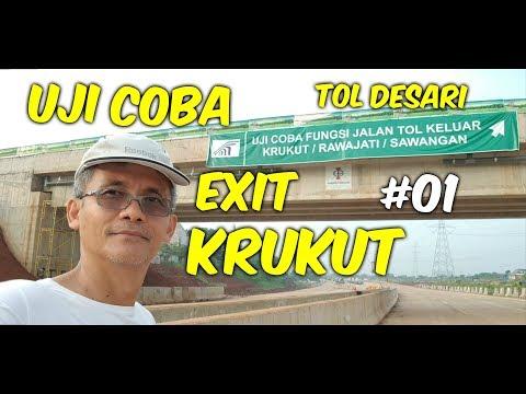 UJI COBA EXIT KRUKUT Part 1 # PROGRES TOL DESARI