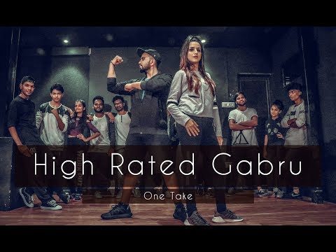 HIGH RATED GABRU | One Take | Guru Randhawa | Tejas Dhoke Choreography | Dancefit Live
