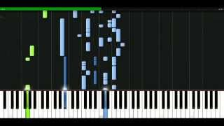 Craig David - Rendez Vous [Piano Tutorial] Synthesia | passkeypiano