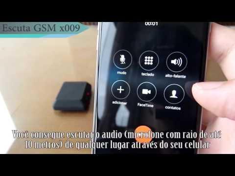 Escuta GSM X009 (Vidio Bug Camera)