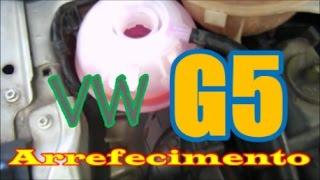 Limpeza Eficiente do Arrefecimento VW Gol G5