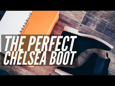 The Perfect Chelsea Boot | Unboxing | Cameron Logan