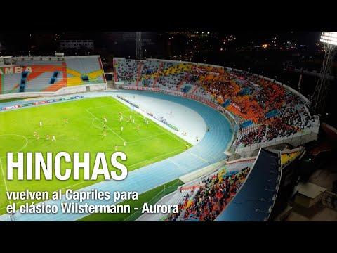 Hinchas vallunos vuelven al Félix Capriles para el clásico valluno