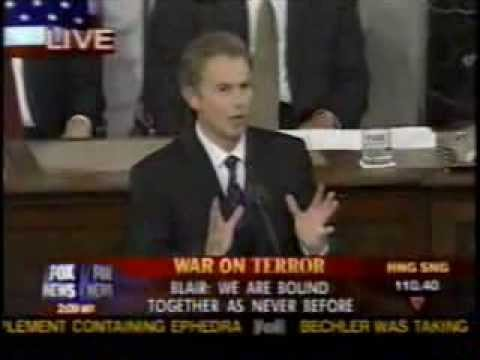 Prime Minister Tony Blair's speech to Congress - Jul. 17, 2003