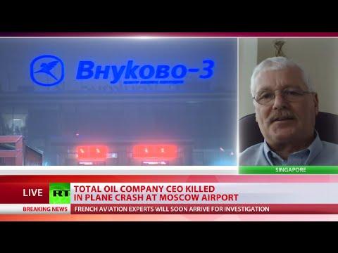 Vnukovo plane crash: Snowplow driver drunk in collision with Total CEO's jet