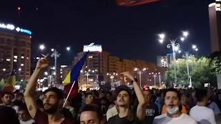Protest 10 august 2018, Bucuresti