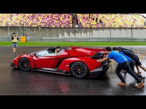 Why Did They Push this Lamborghini Veneno Roadster?