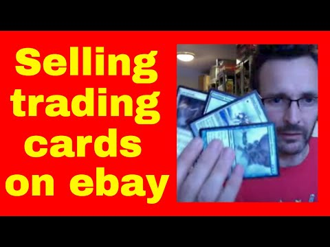 How To Sell Trading Cards On Ebay - Selling MTG Trading Cards Online