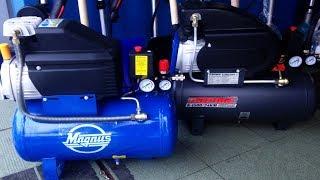 Магнус vs Парма какой компрессор быстрее накачает ресивер