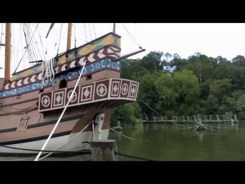 Touring Jamestown Settlement - Jamestown, Virginia, USA