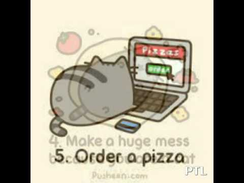 Pusheen Pizza