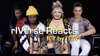 rIVerse Reacts: ICY by ITZY - M/V Reaction
