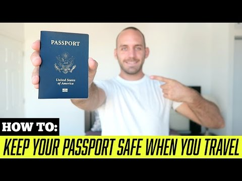 TRAVEL TIPS: How to Keep Your Passport Safe While Traveling