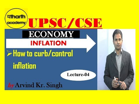 LEC 04-INFLATION(Economy)-UPSC/CSE-PRELIMS