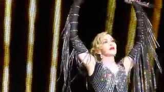 "Madonna ""Material Girl"" & ""La Vie En Rose"" St.Paul,Mn 10 / 8/15 HD"