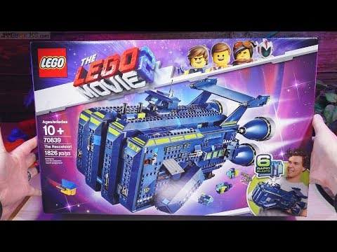 PURE Build: LEGO Movie 2 The Rexcelsior 70839 real-time, no music