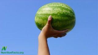 Vodní meloun jako prostředek k úlevě od bolavých svalů