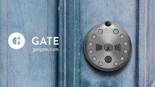 Meet Gate: The World's First Camera-Equipped Smart Lock.
