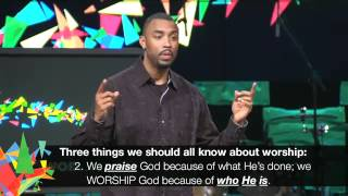 Montell Jordan - The Power of Music @ Victory World Church