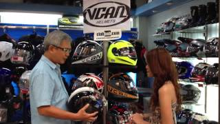 Be Aztig - July 2013 awarding of VCan 526 Philipines Edition Motorcycle Helmet